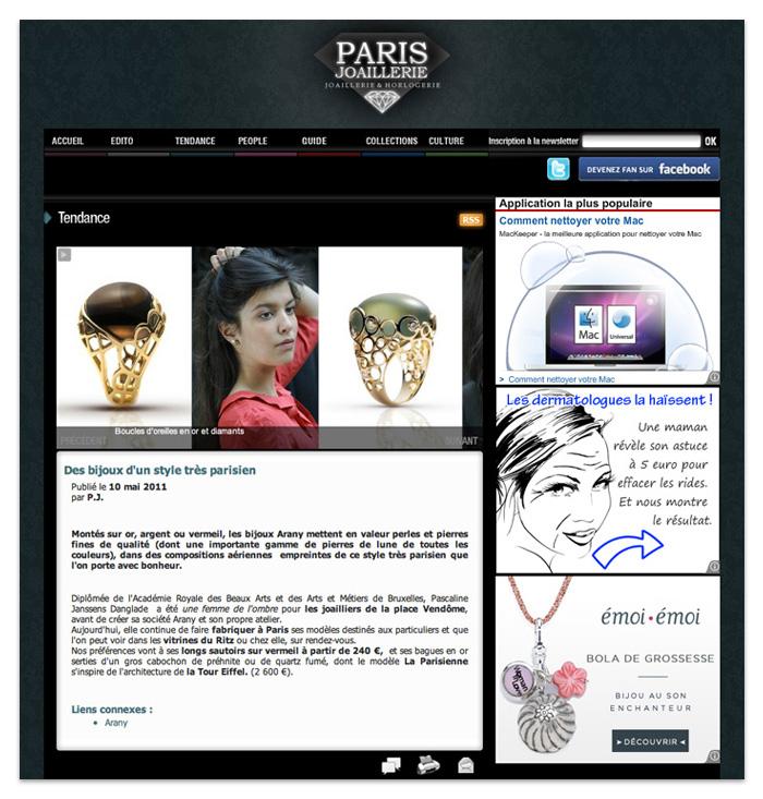 Paris joaillerie